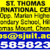 St.Thomas International Centre, Chennai, Wanted Teaching Faculty