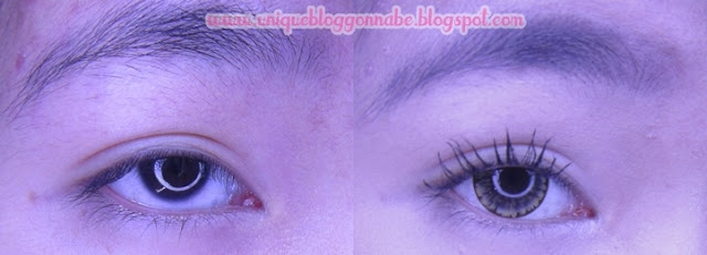 Max factor voluptuous fle mascara before after
