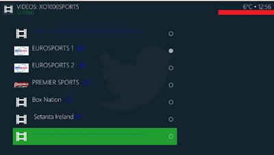 Eurosports channel live on Champion sports kodi