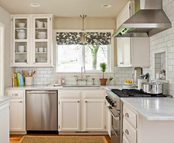 6 soluciones para dar sensación de amplitud a tu cocina