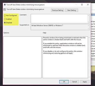 Cara Mengaktifkan dan Mematikan Fitur Aero Shake di Windows 10