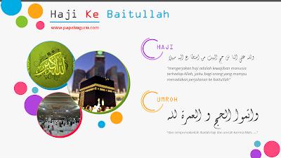 Materi PPT PAI SMA : Haji (Download)