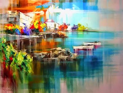 coloridos-cuadros-paisajes-modernos