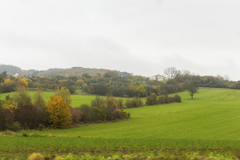 paisagem a caminho do Castelo de Malbrouck