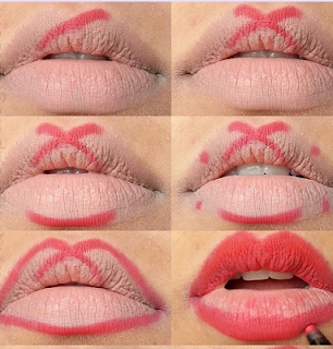 tips to apply lipstick