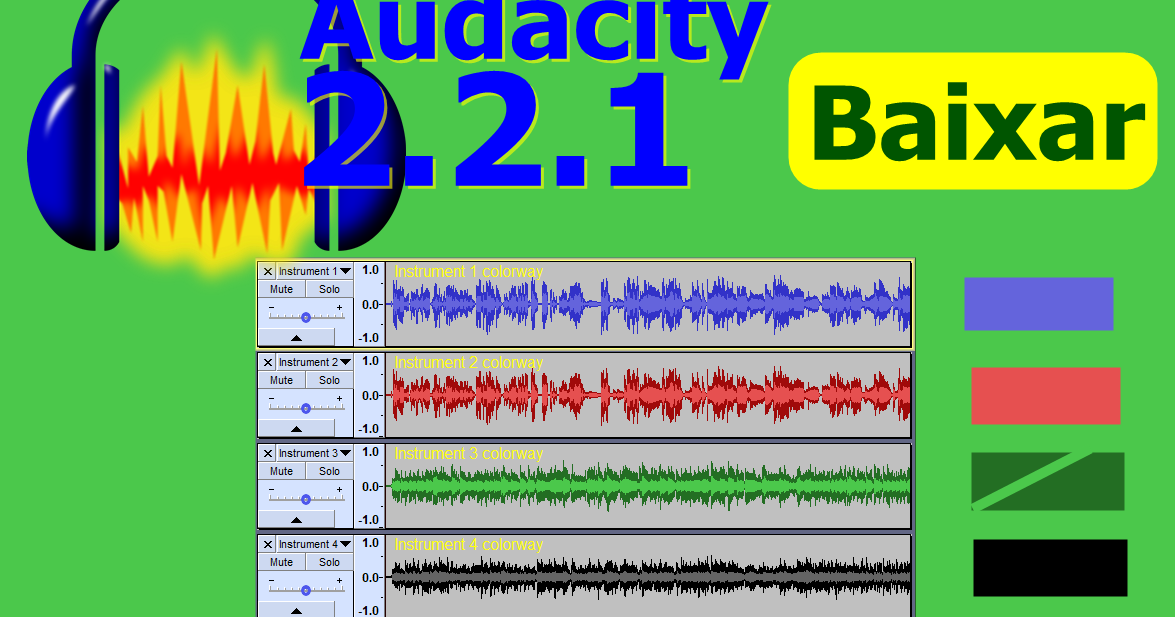 how to download audacity software