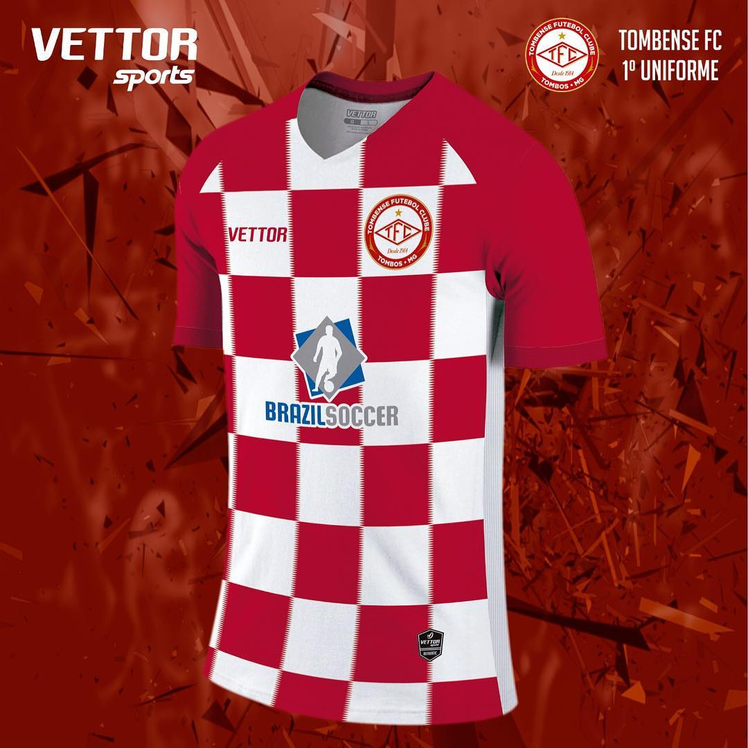Vettor divulga as novas camisas do Tombense - Show de Camisas 5ec2d5c94dc28