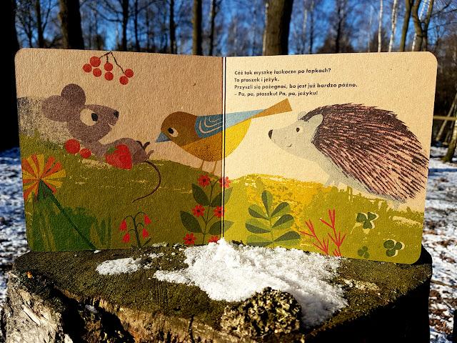 książeczki dla dzieci - Nasza Księgarnia - Moja mała kaczuszka - Moja mała myszka -  Britta Teckentrup - Blisko natury - książeczki ekologiczne - recykling - zero waste