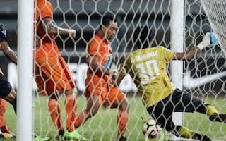 Persija Jakarta Menang 2-1 di Kandang Borneo FC