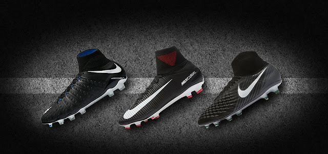 259141cd763 PES 6 Nike Pitch Dark Boots-Pack 2017-18