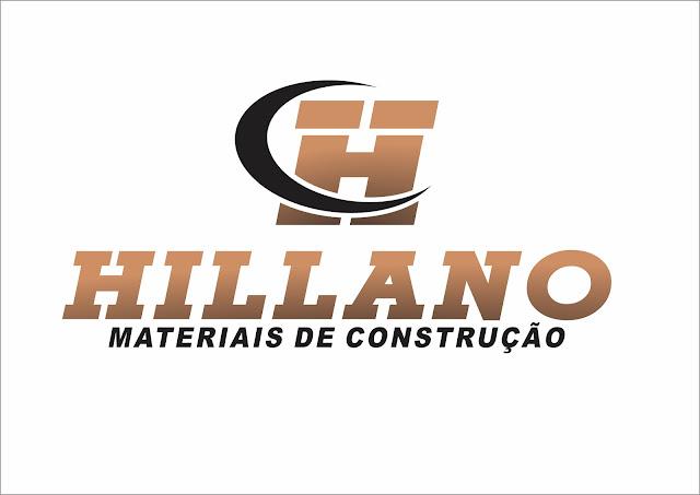 LOGOTIPO DESENVOLVIDO PARA EMPRESA DE HILLANO MATERIAL DE CONSTRUÇÃO-TRAVESSÃO DE BARRA -SFI-RJ