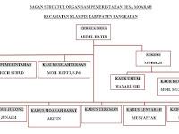 Struktur Organisasi Pemerintahan Desa Muarah