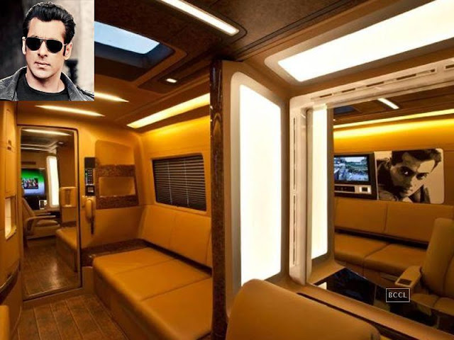 from salman khan to shah rukh check out the vanity vans