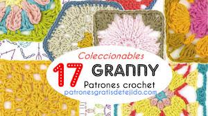 Patrones de granny crochet  💖