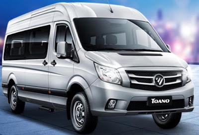 Foton'un Sprinter sınıfındaki aracı Tuano adını taşıyor.