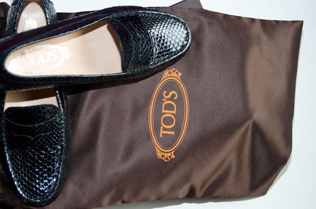 mokasyny kultowej marki Tod's