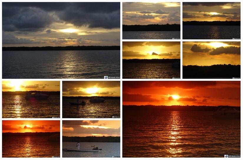 Por do Sol - Praia do Jacaré - Paraíba - Diário de Bordo