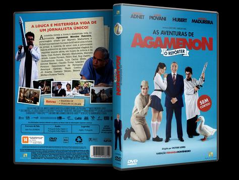 Capa DVD As Aventuras de Agamenon: O Reporter