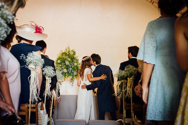 boda rural campestre Teruel vestido novia Lanvin bridal dress