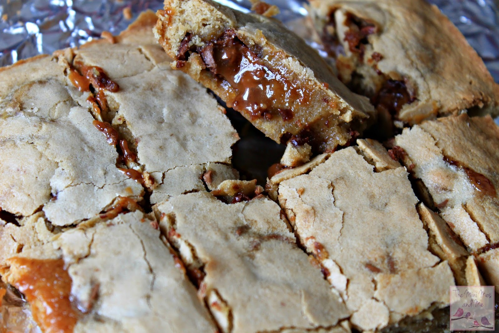 Delicious Rolo Blondies recipe
