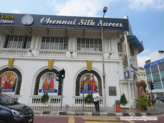 Chartered Bank  in Klang Town.