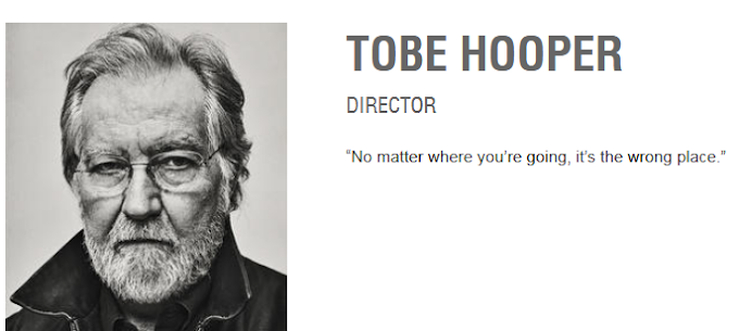 Rest In Peace Tobe Hooper (1943-2017)