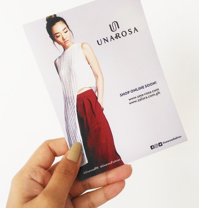 UNAROSA Fashion, UNAROSA Holiday 2016 Collection