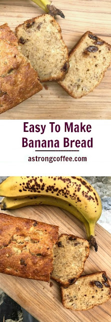 easy to make banana bread recipe - prefect for cooking with kids