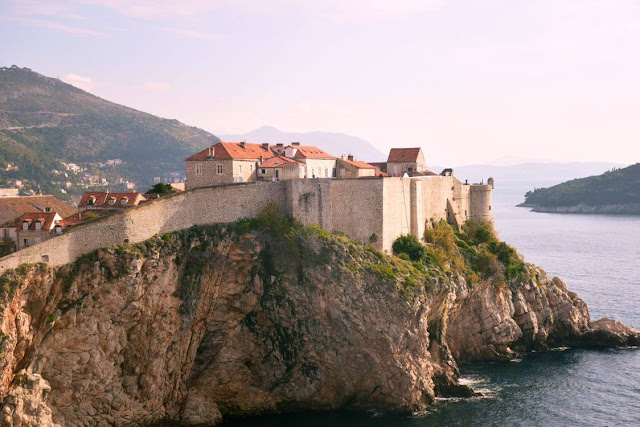 coastal city of dubrovnik, croatia