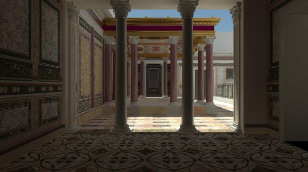 Nero's Domus Transitoria on the Palatine to open to the public