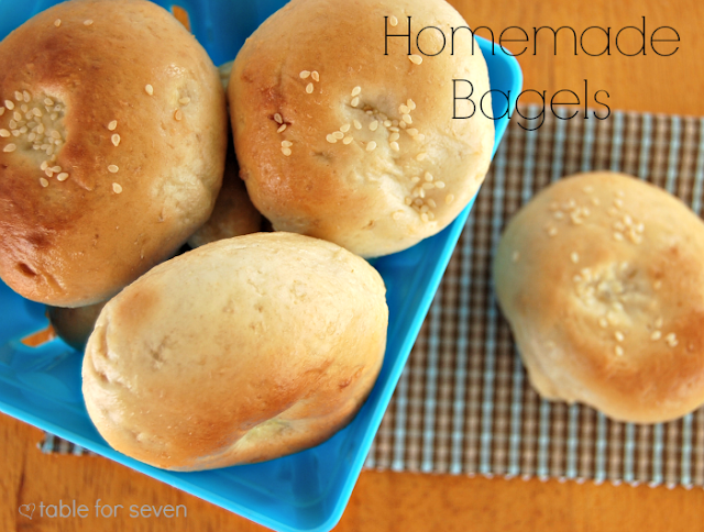 Homemade Bagels