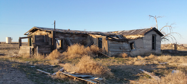 Abandoned Buildings in Cisco Utah ghost town