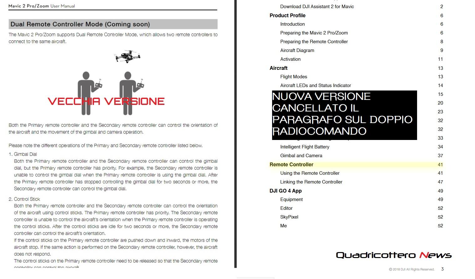 Drone Mavic 2, la DJI si rimangia le promesse sul radiocomando