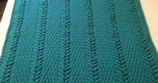 Filet Teddy Bear Blanket - The Lavender Chair | 336x640