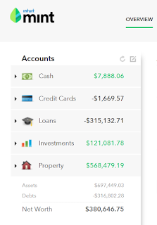 mint.com net worth