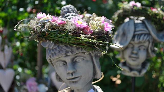 Floristik - Blumenkranz - Gartendeko