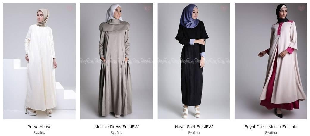 Meriahkan Ramadhanmu dengan Koleksi Abaya dari Syafina