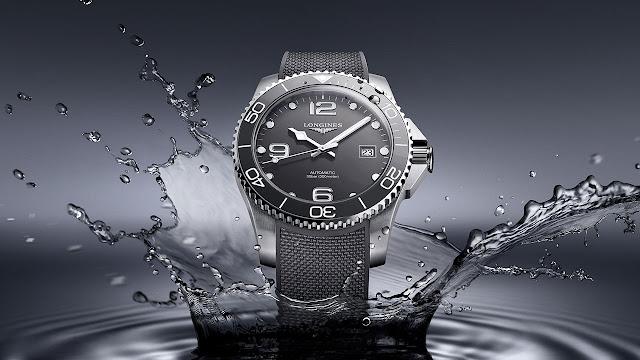 Longines HydroConquest Automatic Watch Grey