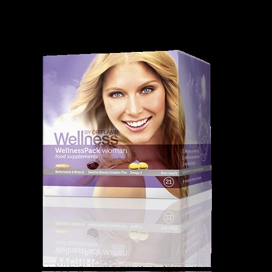 Thực phẩm chức năng Wellness Pack Woman dành cho nữ_22791 Oriflame