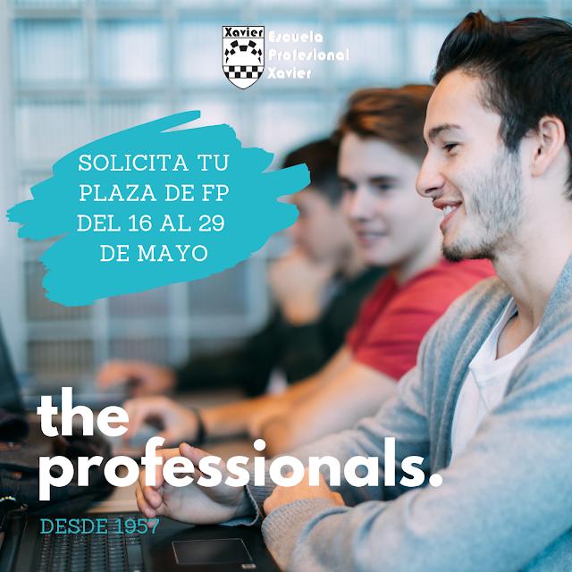 fp formación profesional valencia solicitud plaza ciclos formativos grado medio superior