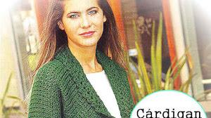 Cardigan Crochet con cuello esmoquin / Paso a paso