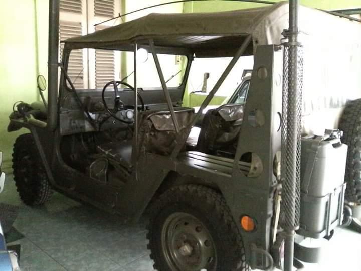 Jual Jeep Militer Utility A2 Tahun 1978