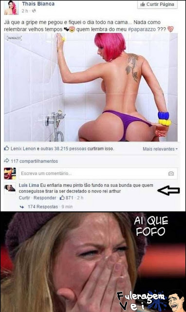 Frases Idiotas do Facebook
