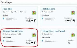 Wisesa Travel Mitra Terpercaya Utiket