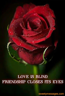 love is blind image with quotes