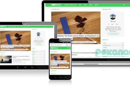 Download Template VioMagz Versi 2.7 Terbaru Plus Review