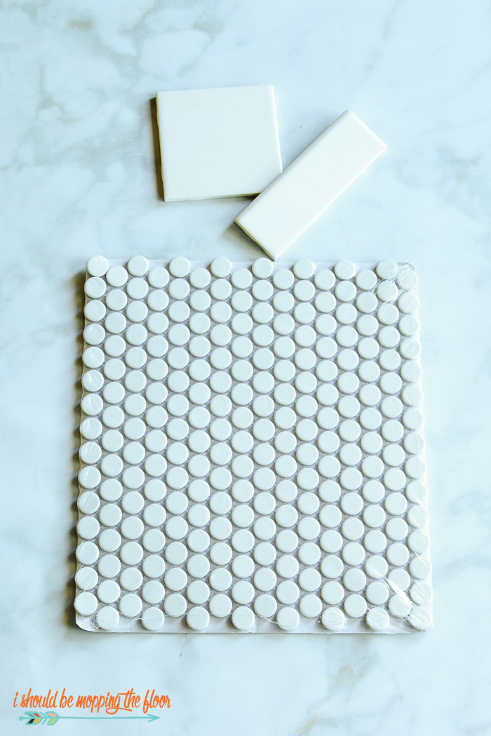White Penny Tiles