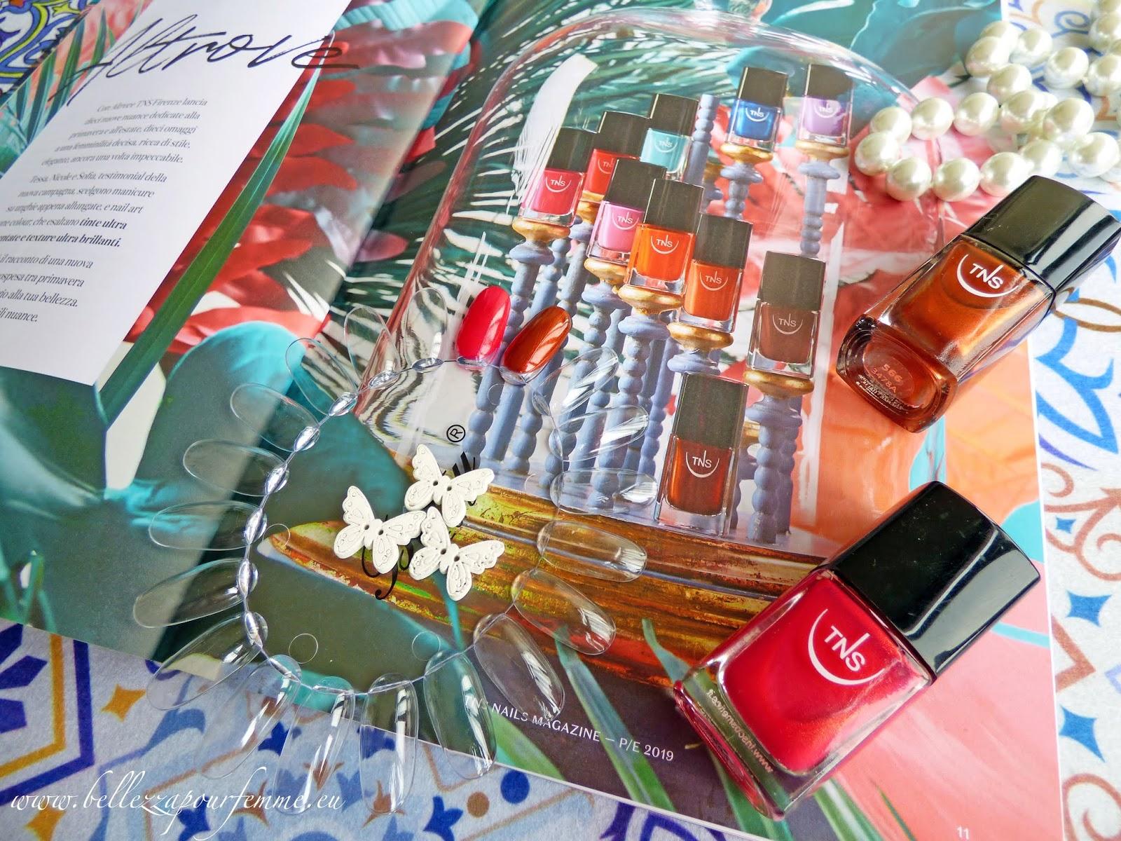 TNS Cosmetics SS2019 Altrove e Risveglio smalti