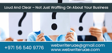 Best content writers dubai