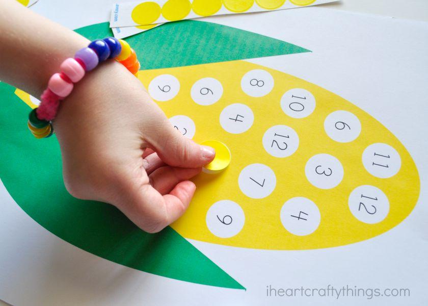 Number  Crafts For Preschoolers